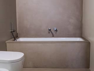 Betonowa łazienka: styl , w kategorii Łazienka zaprojektowany przez HD Surface