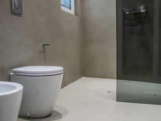 Łazienka z betonu: styl , w kategorii Łazienka zaprojektowany przez HD Surface
