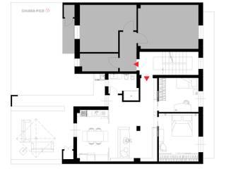 Planimetria di progetto:  in stile  di chiarapice studio