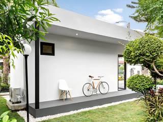 ภาพตัวอย่างงานสร้างเสร็จจริง:   by Mas Architects
