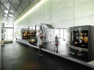 SCHOTT MIRONA® High Reflective Grey - Deutsches Buch- und Schriftmuseum, Leipzig, Deutschland Moderne Museen von SCHOTT AG Modern