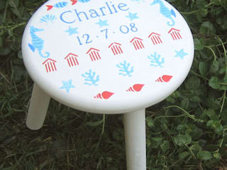 Child's Seaside Stool: modern  by Anne Taylor Designs, Modern