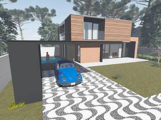 """RESIDÊNCIA LM"""" Casas modernas por Tangram Construtora de Obras Moderno"""
