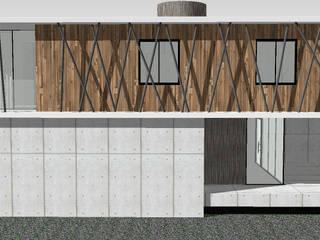Modern Houses by Tangram Engenharia Construtiva Modern