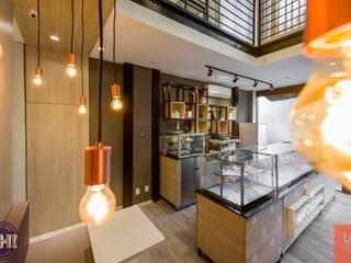 AH! Cucaria Espaços gastronômicos escandinavos por Laboratório Treze Arquitetura + Design Escandinavo