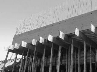 OBRAS Casas modernas por Tangram ENG + ARQ + BIM Moderno