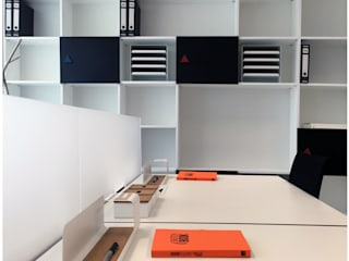 Edificios de Oficinas de estilo  por menta, creative architecture