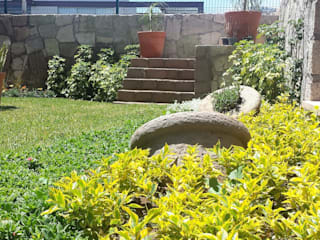 Casa VR-3M: Jardines de estilo  por SCH2laap arquitectura + paisajismo