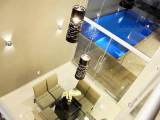 Híbrida Arquitetura, Engenharia e Construção Modern Dining Room