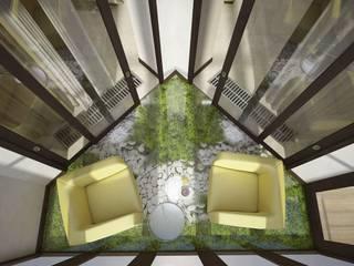 Вира-АртСтрой Minimalist balcony, veranda & terrace
