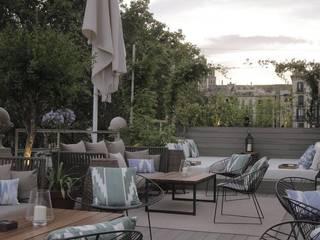 Hotel Oasis Barcelona Naturalgardens Tindas project s.l Jardines de estilo mediterráneo