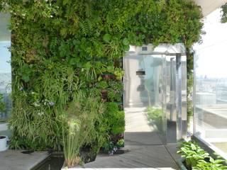 Jardín vertical Barcelona: Jardines de estilo  de  Naturalgardens  Tindas project s.l