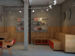 Gimnasios en casa de estilo moderno de CMS.ARQ - Camila Machado Salmória Moderno Madera Acabado en madera