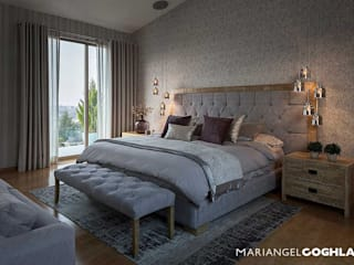 Habitaciones modernas de MARIANGEL COGHLAN Moderno