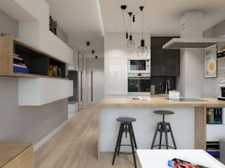 by SO INTERIORS ARCHITEKTURA WNĘTRZ Сучасний