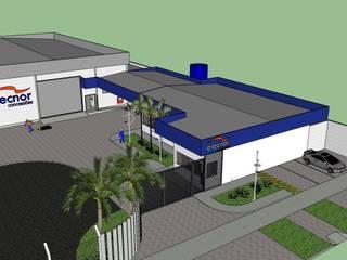 industrial  by Diego Alcântara  - Studio A108 Arquitetura e Urbanismo, Industrial