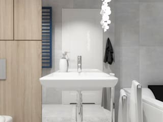 Scandinavian style bathroom by SO INTERIORS ARCHITEKTURA WNĘTRZ Scandinavian