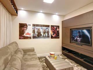 Híbrida Arquitetura, Engenharia e Construção Modern Living Room