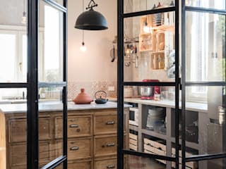 Caterina Raddi Industrial style kitchen