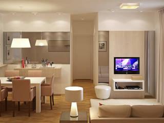 Híbrida Arquitetura, Engenharia e Construção Modern Dressing Room