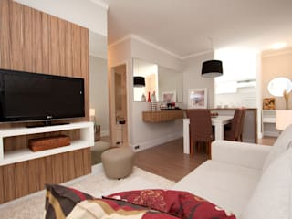 Híbrida Arquitetura, Engenharia e Construção Living roomAccessories & decoration