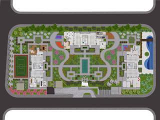Híbrida Arquitetura, Engenharia e Construção Modern Garden