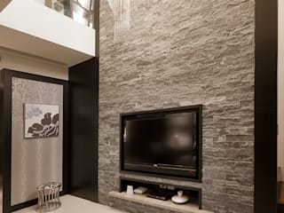 Tropical style living room by 芸采創意空間設計-YCID Interior Design Tropical