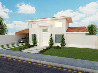 Híbrida Arquitetura, Engenharia e Construção Classic style houses