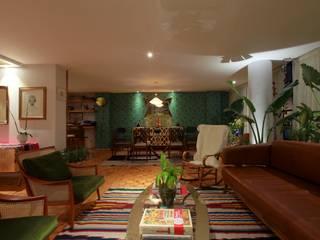 Parque México: Salas de estilo  por All Arquitectura