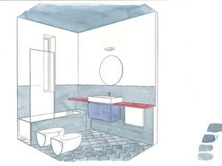 Modern Bathroom by studio ixylon Modern