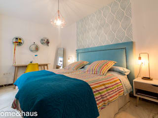 Home & Haus | Home Staging & Fotografía ห้องนอน White