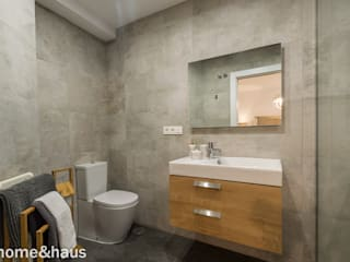 Casas de banho  por Home & Haus | Home Staging & Fotografía