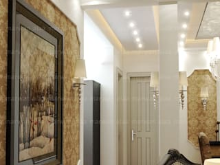 Classic style corridor, hallway and stairs by EHAF Consulting Engineers Classic