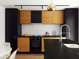 industrial Kitchen by House of Sylphina