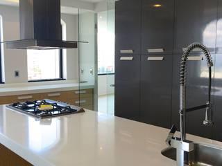 Departamento Fuentes de Interlomas Cocinas modernas de simon&diseño Moderno
