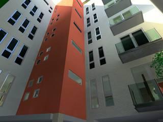 Edificio Coyoacán Casas modernas de simon&diseño Moderno