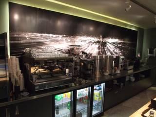Plamar Mobilya Sanayi Turizm İnşaat ve Tic.Ltd.Şti. – CAFE BREAK - BOYNER GROUP YÖNETİM BİNASI:  tarz Yeme & İçme