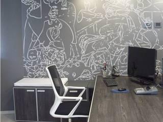 Oficinas Estudio TK: Estudios y oficinas de estilo  por TORRETTA KESSLER Arquitectos
