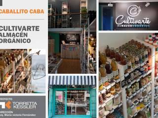 Cultivarte, almacén orgánico de TORRETTA KESSLER Arquitectos Ecléctico