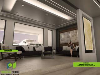 Sala: Salas de estilo ecléctico por Proyecto Ciudad. Taller de Urbanismo y Arquitectura.