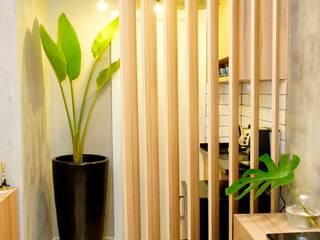 Bureau de style  par Jorge Machado arquitetura, Industriel