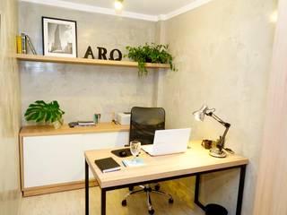 Oficinas y bibliotecas de estilo industrial de Jorge Machado arquitetura Industrial