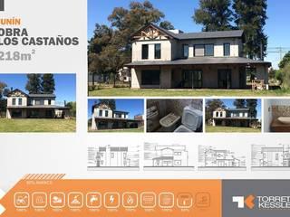 Rumah oleh TORRETTA KESSLER Arquitectos, Country