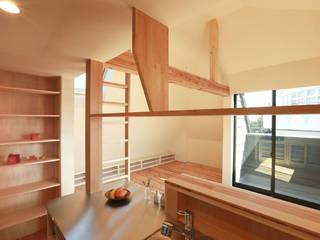 大森西の家: 光風舎1級建築士事務所が手掛けたキッチンです。