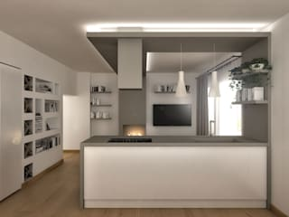 Kitchen by Architetto Luigia Pace, Modern