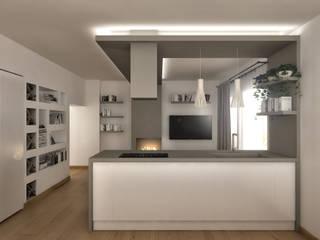 Nowoczesna kuchnia od Architetto Luigia Pace Nowoczesny