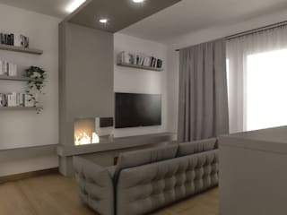 Modern Living Room by Architetto Luigia Pace Modern