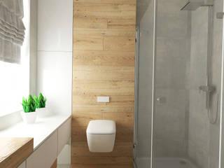 Dom w Warszawie: styl , w kategorii Łazienka zaprojektowany przez Kata Design
