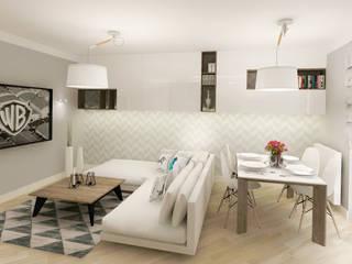 Living room by Kata Design, Scandinavian