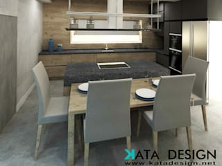 Dining room by Kata Design, Modern